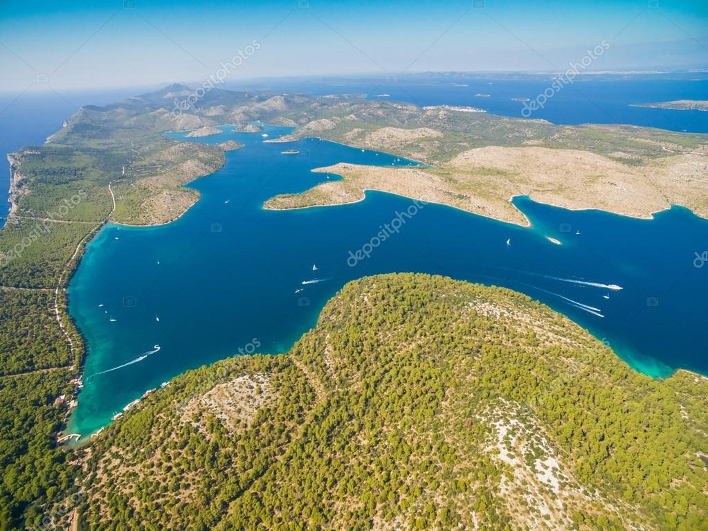 National park Telascica in Croatia