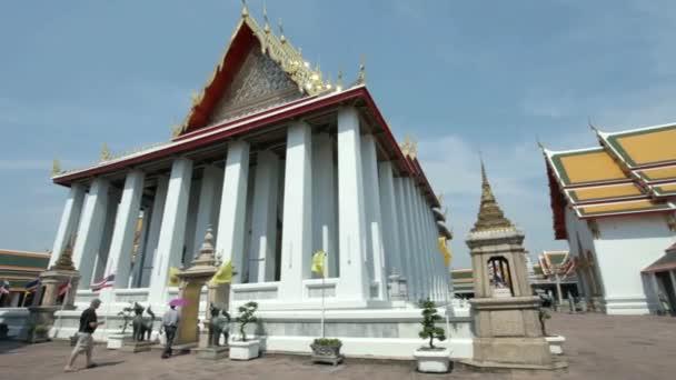 Meditační síň v chrámu Wat Pho