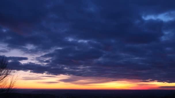 TimeLapse a felhők mozgó