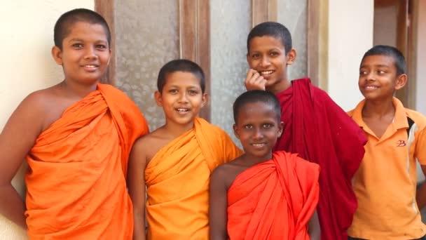 Buddhist monk boys