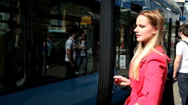 Lány vár utcai villamos