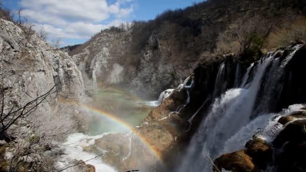 Vodopády v národním parku Plitvická