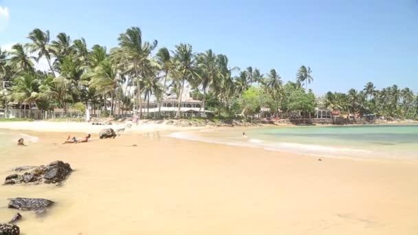 Sandy tropical paradise beach