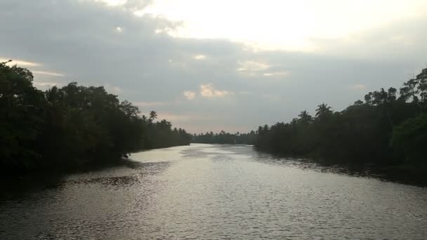 View of river in Matara, Sri Lanka.