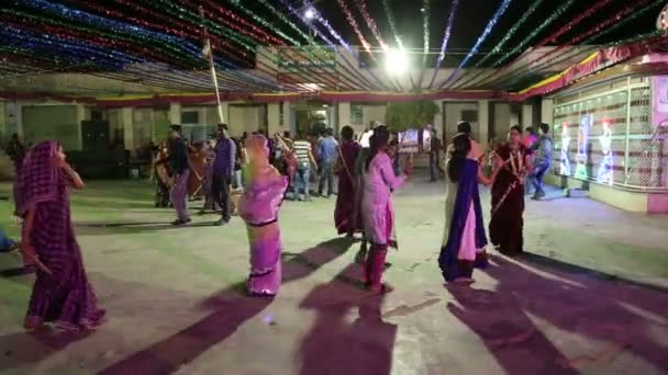 db588e6c672 Young Indian men and women dancing — Stock Video © paulprescott ...