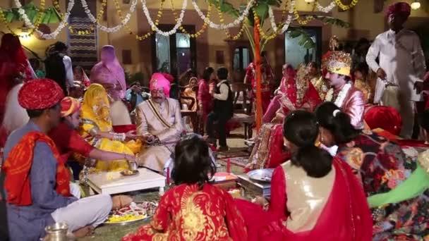 Tradycyjne Hinduskie Wesele Wideo Stockowe Paulprescott 78388832
