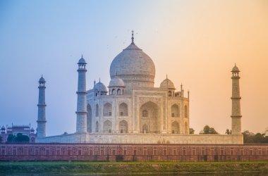 Taj Mahal from northern side