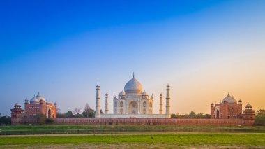 Taj Mahal from north side