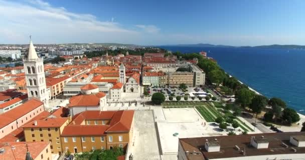historické staré město Zadar