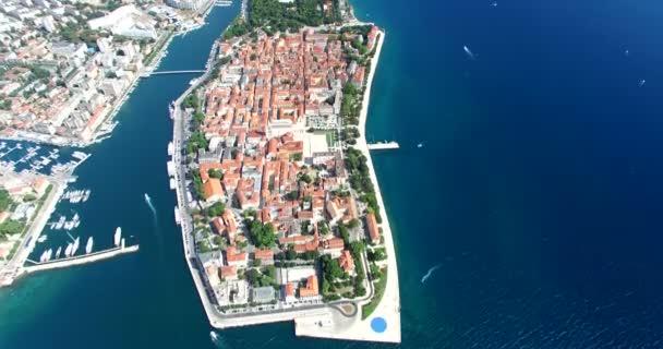 krásné město Zadar, Chorvatsko