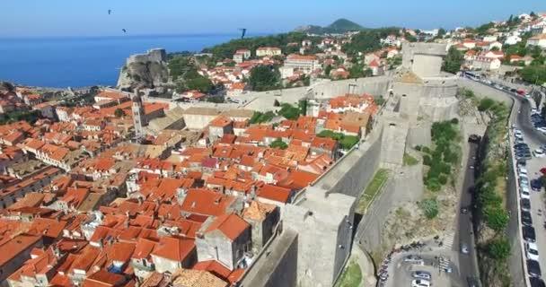 staré město Dubrovník v Chorvatsku