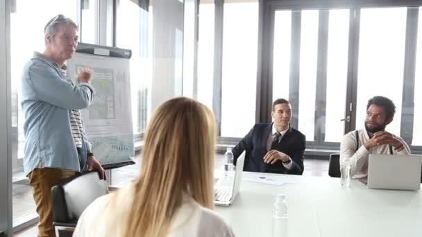 kreativní ředitel na setkání