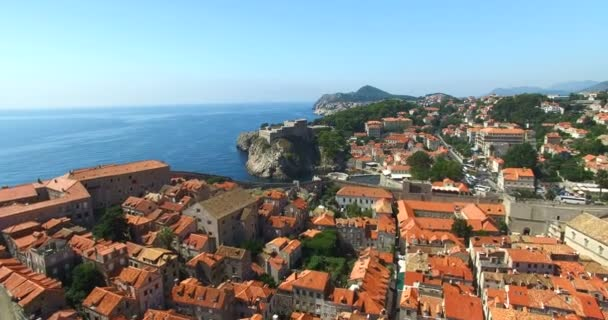 red roofs of Old Town of Dubrovnik