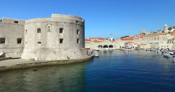 Fort st ivan and harbour in dubrovnik stock video paulprescott fort st ivan and harbour in dubrovnik stock video publicscrutiny Image collections