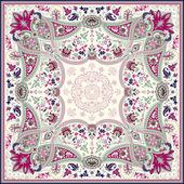 Fotografia Progettazione dettagliata Sciarpa floreale