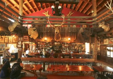 A Goldfield Ghost Town Mammoth Saloon, Arizona