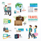 Fényképek World Travel Business Infographic