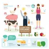 Organic Clean Foods Template Design