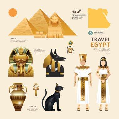 Egypt  Travel Concept.