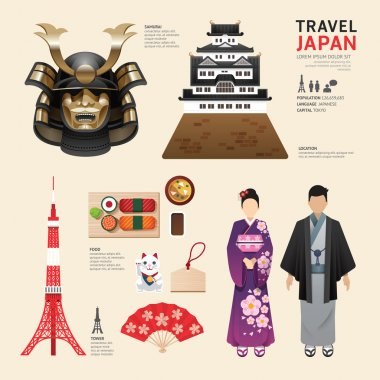 Japan Travel Concept.