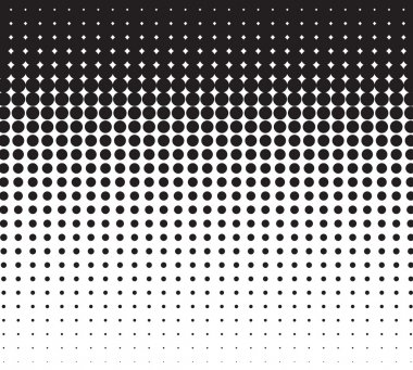 vector halftone for backgrounds and design