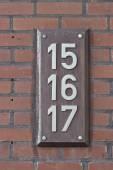 domovní čísla 15,16,17