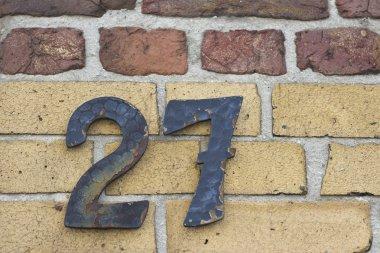 House number twenty seven