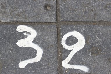 House number thirty two