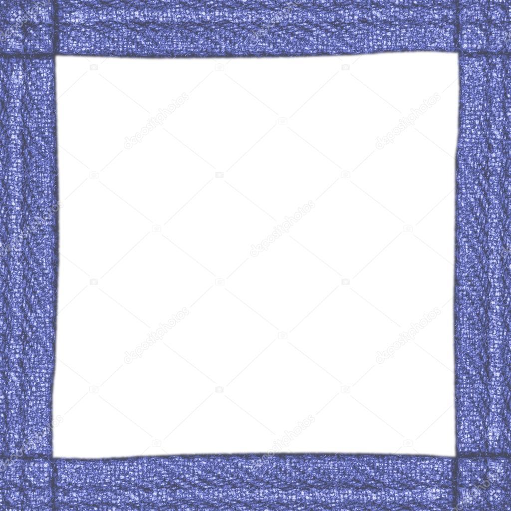 Rahmen der Denim-material — Stockfoto © natalt #76496473