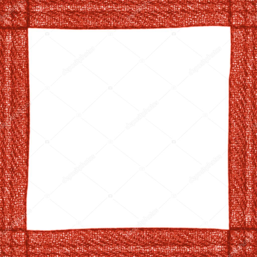 marco de material de dril de algodón — Foto de stock © natalt #76496483