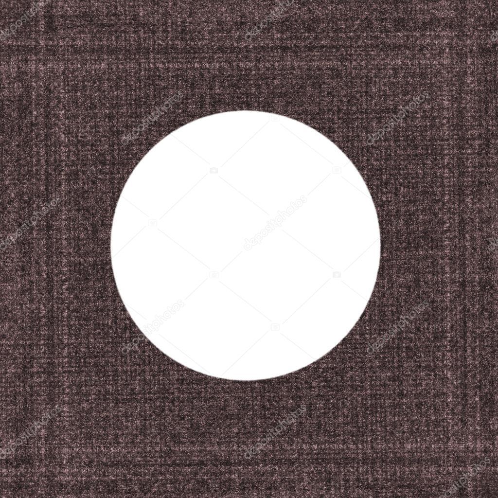 texturierte Runde Bilderrahmen braun — Stockfoto © natalt #82191920