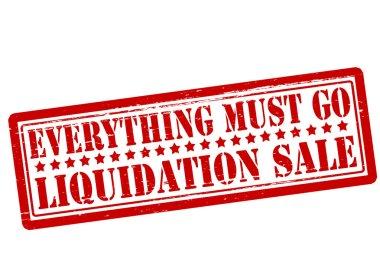 Everything must go liquidation sale