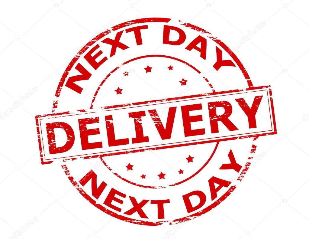 levering volgende dag