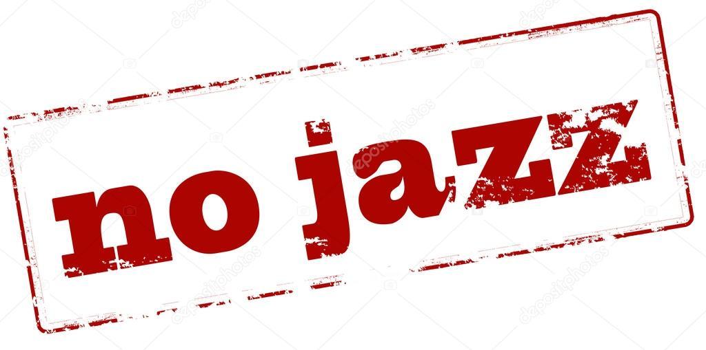 No jazz stamp