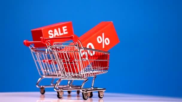 Přesun nákupní vozíky s prodejní ikony