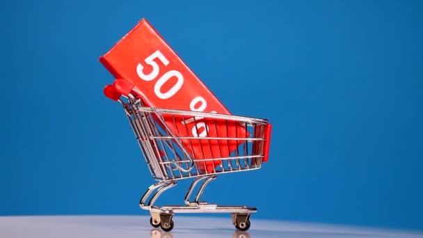 Válcování nákupní košík, prodej koncepce