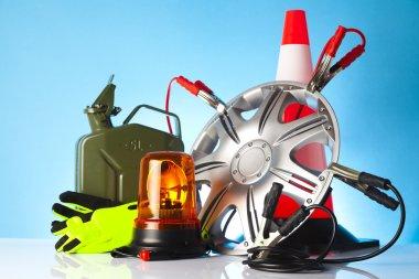 Car accessories,auto shop concept