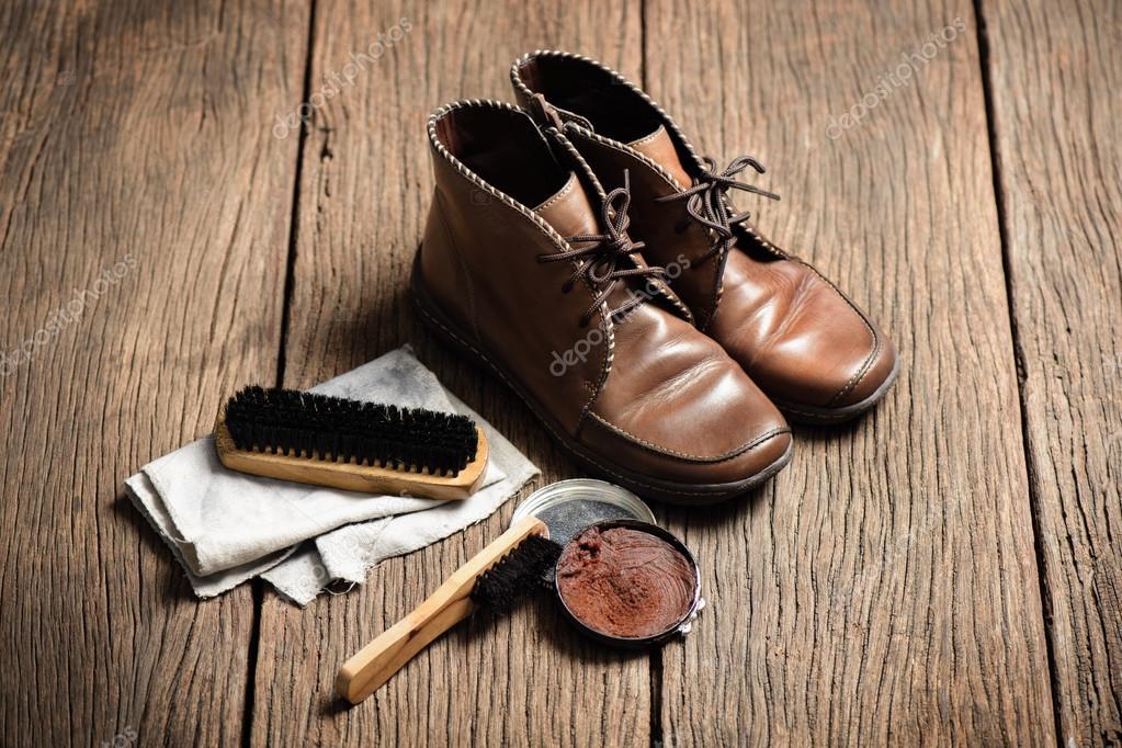Botas zapato con de conjunto marrón cuero mantenimiento rqwrF8