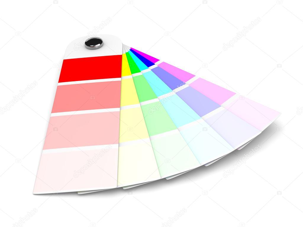 Pantone-Farben-Sampler — Stockfoto © mrgao #55836853