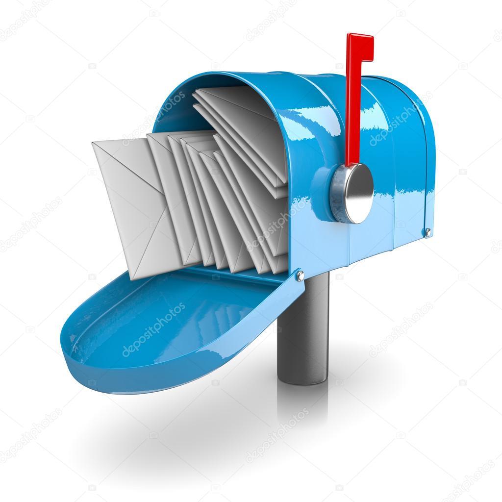 Full Mailbox Stock Photo mrgao 66359389