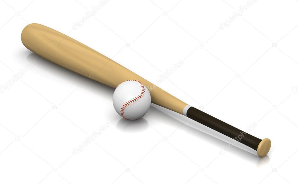 Kij Baseballowy I Pilka Zdjecie Stockowe C Mrgao 87568628