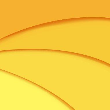 "Картина, постер, плакат, фотообои ""yellow background with line and blur with gradient mesh, vector illustration"", артикул 446516112"