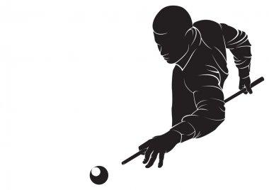 Billiards player