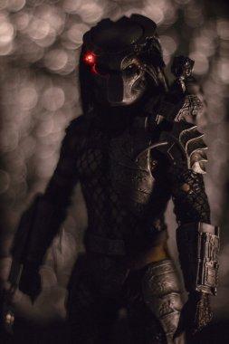 Action figure of Predator