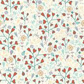 jarní květinový vzor