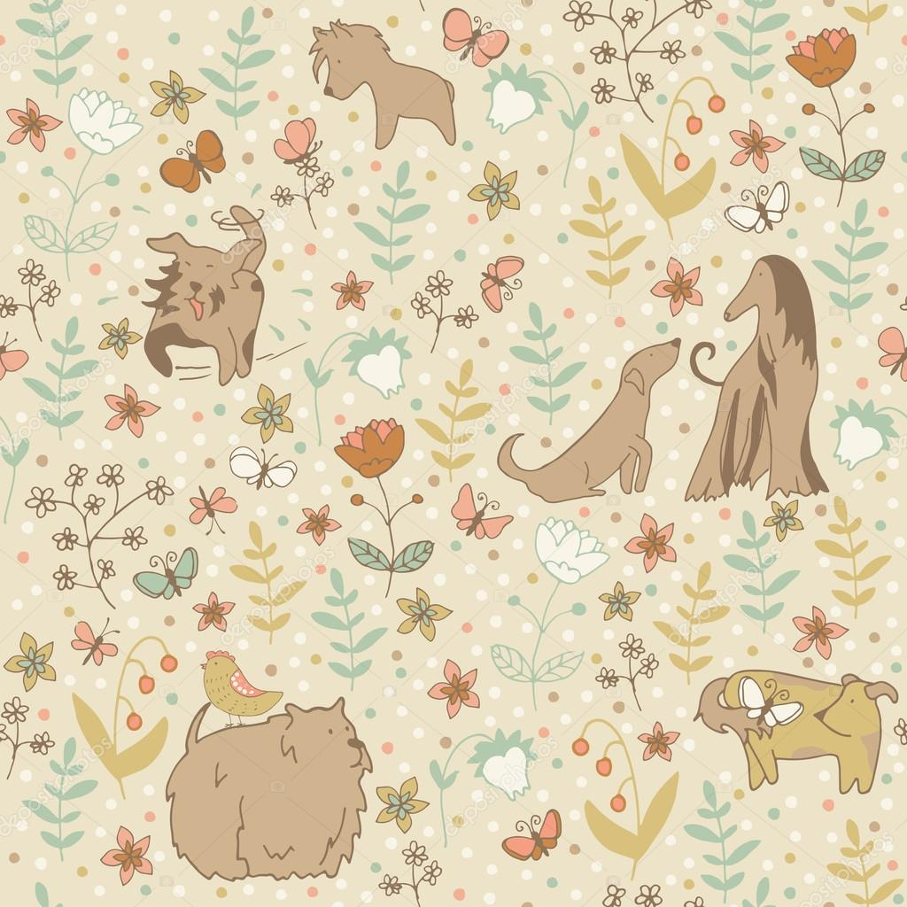 Dogs spring pattern
