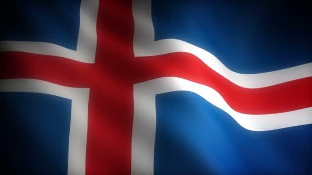 Izland zászlaja (varrat nélküli)