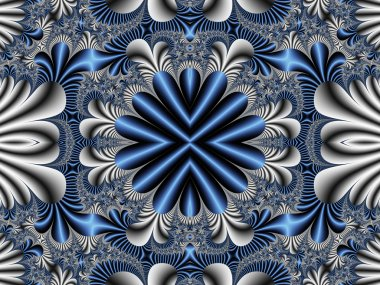 Fabulous symmetrical pattern for background. Artwork for creativ