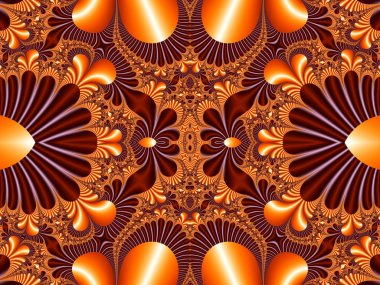 Fabulous symmetrical pattern for background. Collection - Magica