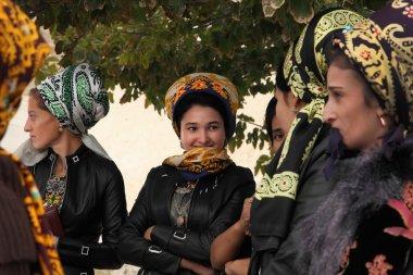 Kov-Ata, Turkmenistan - October 18. Portrait of unidentified  As